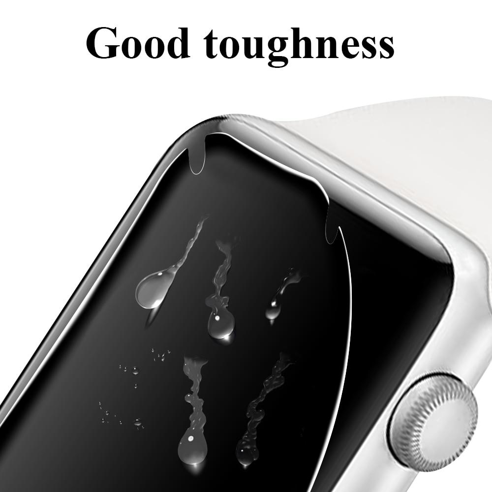 Película transparente de hidrogel para Apple Watch Series 3 5 44mm 38mm Protector de pantalla de fibra para iWatch 4 2 1 40mm 42mm Accesorios Teléfono Móvil 4G LTE apple-iphone SE, iPhone Original libre, Dual Core, 2GB RAM, 16 GB/64GB ROM, pantalla de 12,0mp, IOS, reconocimiento de huella dactilar, Touch ID
