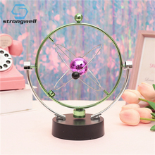 Strongwell Milky Way Celestial Bodies Motion Orbital Desk Toy Office Energy Rotating Science Art Decoration Crafts