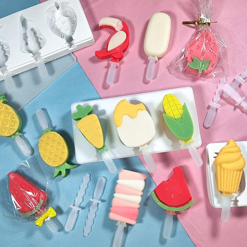 Стильная футболка с изображением персонажей видеоигр мороженое плесень силиконовая форма для Фруктового мороженого на палочке многоразов...