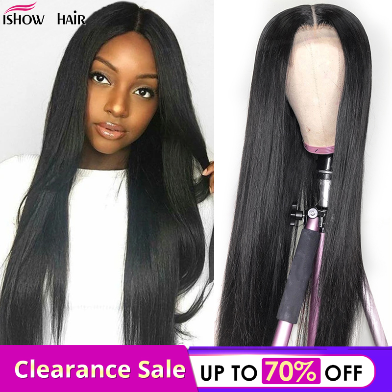 Straight Lace Front Wigs 150% Density 13x4 Lace Front Wig Malaysian Remy Human Hair Wigs Pre Plucked With Baby Hair For Women