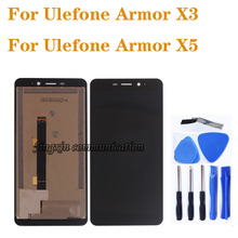 Original Display For Ulefone armor x3 LCD DISPLAY+Touch Screen Digitizer Replacement for Ulefone Armor x5 LCD Screen Repair Kit