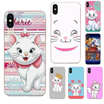 Aristocats Cat Kitty Design Phone Case For Samsung Galaxy Note 8 9 10 Pro S4 S5 S6 S7 S8 S9 S10 S11 S11E S20 Edge Plus Ultra image