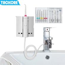 Tackore蛇口フロッサ口腔洗浄器フロススパデンタルフロスウォータージェットピック水歯科口腔灌漑