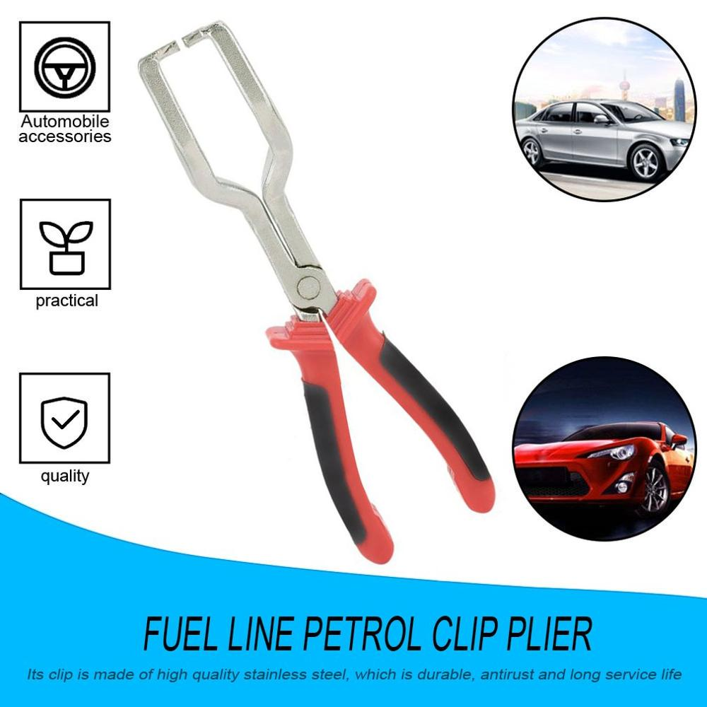 220MM Fuel Line Petrol Clip Pliers Pipe Hose Release Disconnect Removal Separator Car Repair Tool Connector Filter Remover