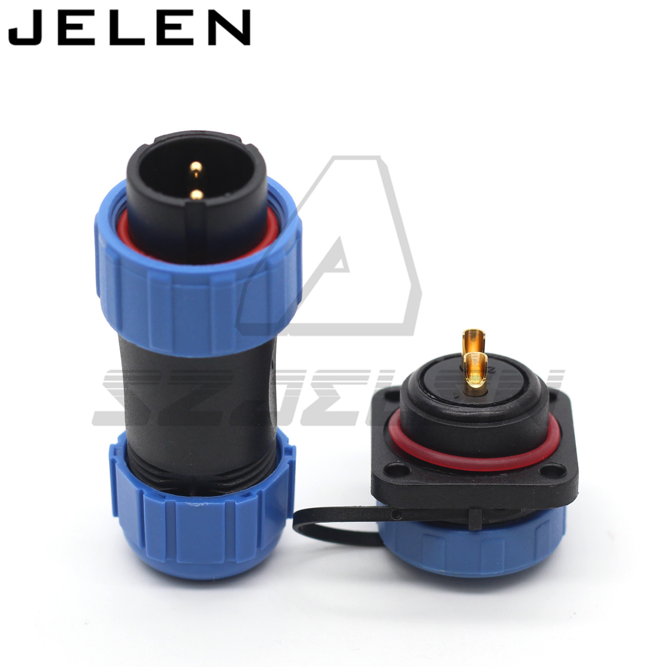 SP21 2pin waterproof Connector  IP68  automotive electrical wire connectors 2 pin plug and socket title=