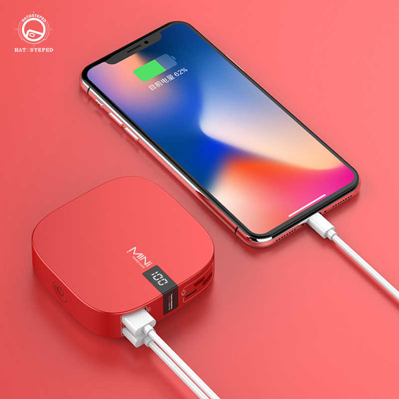 10000mAh power bank Tragbare Lade Poverbank Handy Externe Batterie Ladegerät Digital Display Mini Power Für Xiaomi