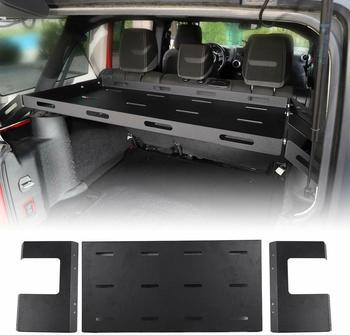 Interior Rear Cargo Basket Rack Luggage Storage Carrier for Jeep Wrangler JK JL