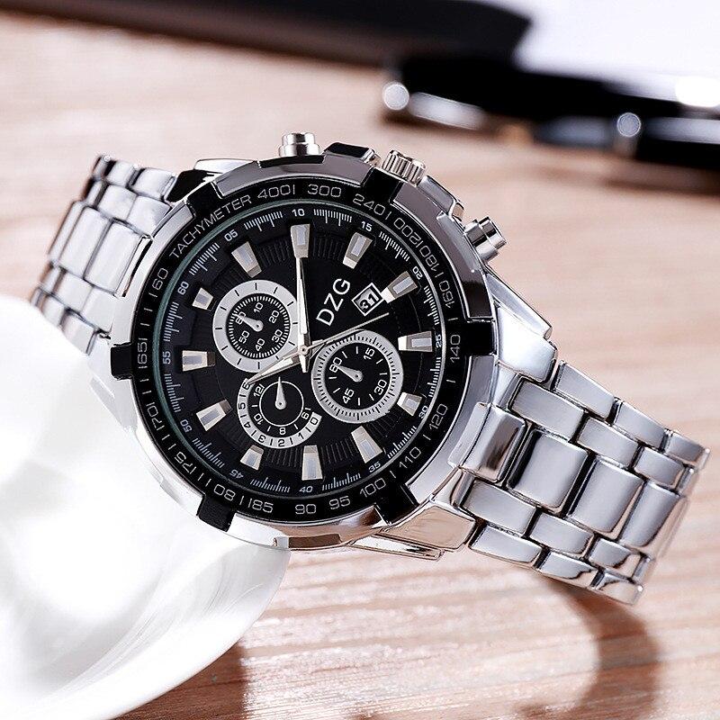 2020 Men's Watch Business Luxury Quartz Wristwatches For Man Clock Creative Steel Watches Men Simple Waterproof Male Wrist Watch