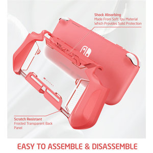 Image 5 - Mumba Grip Case For Nintendo Switch Lite Blade TPU Protective Portable Cover Case Compatible with Switch Lite Console (2019)