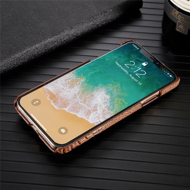 Genuine Leather Cow Hide Stereoscopic 3D Case for iPhone 11/11 Pro/11 Pro Max 22