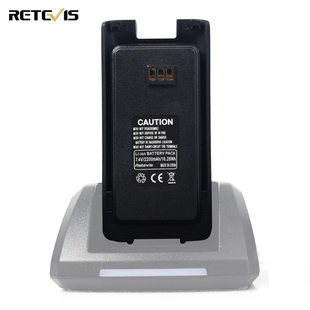 New Original Walkie Talkie Li-ion Battery Pack 2200mAh 7.4V For Retevis RT8 RT81  Two Way Radio Accessory J9115B