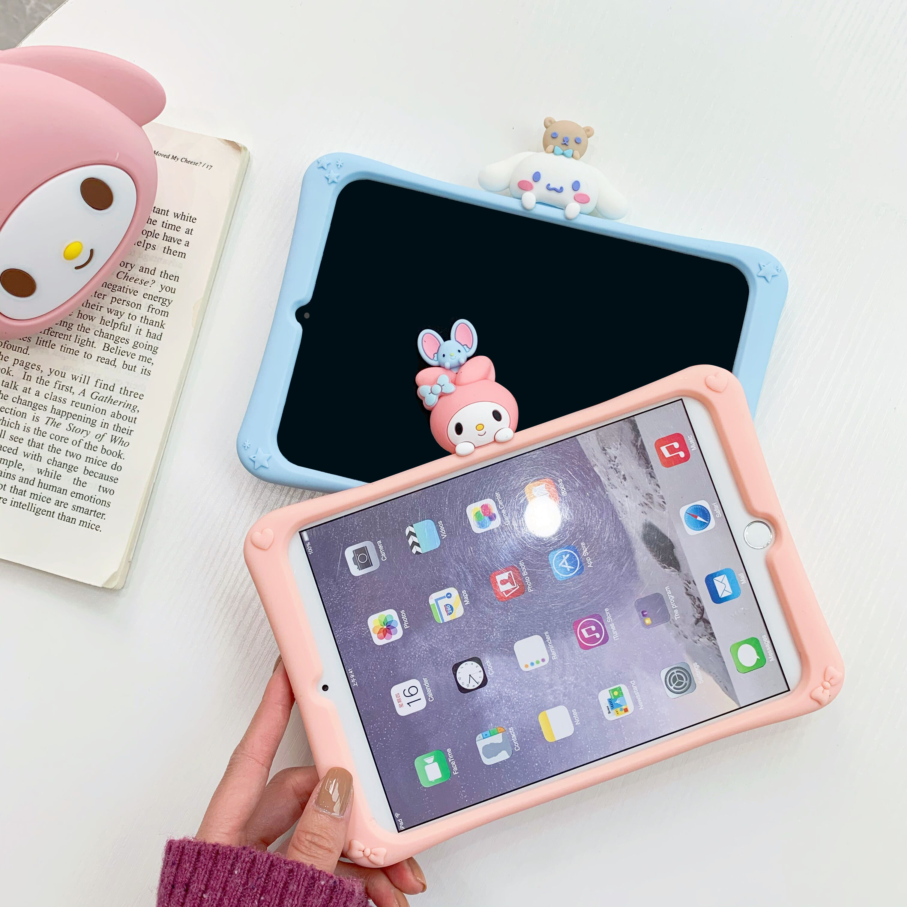 Rlenda Cartoon Pattern Soft Back Case For Ipad Pro 10 5 Air 3 10 2 Pro 11 Hidden Stand Cover For Ipad Mini 123 4 5 Tablets E Books Case Aliexpress
