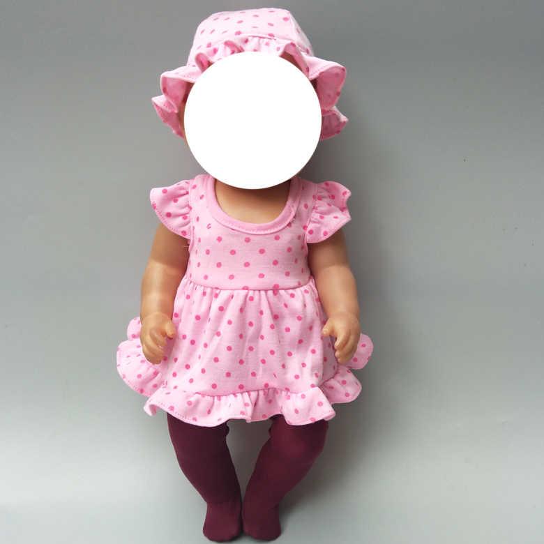 Boneca legging para 43cm bebê boneca longo estoque 18 polegada boneca meias acessórios