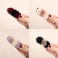 Autumn And Winter Korean Hair Clip Ponytail Hair Clip Hair Ball Large Hair Catch Ball Head Hair Clip Female G1130