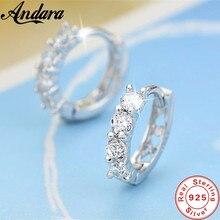 Boucles d'oreilles en argent Sterling 925, boucles d'oreilles incrustées de cristal en Zircon, pour femmes, bijoux de mariage, cadeaux, vente en gros