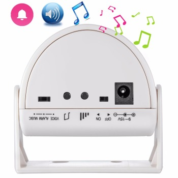 Fuers Security Wireless Door Bell Welcome Chime Alarm Music Switch PIR Motion Sensor Home  Shop Hotel Entry Security Doorbell doberman security entry defender with chime infrared motion detection home alert sensor ir doorbell home security alarm system