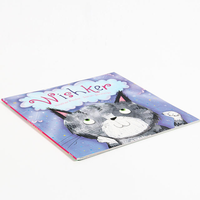 English Original Children Picture Book Wishker-Cat Whisker Paperback Early Childhood English Book