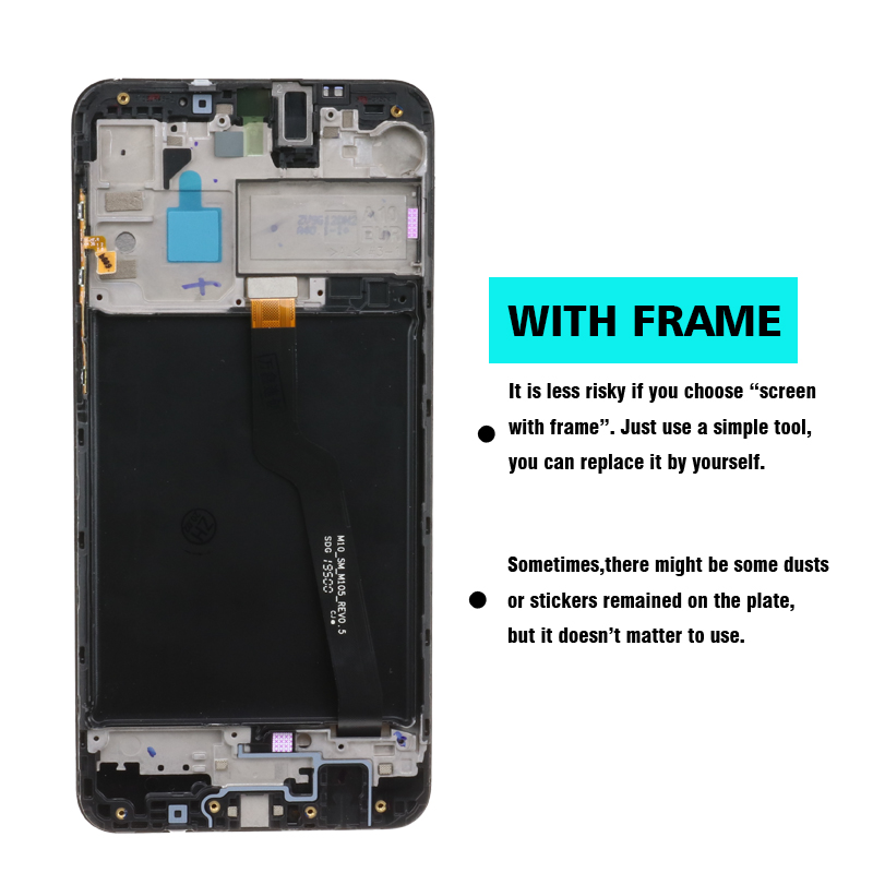 Image 4 - 10pcs/lot 100% ORIGINAL for Samsung Galaxy A10 lcds Digitizer A105/DS A105F A105FD A105A Display Touch Screen Digitizer AssemblyMobile Phone LCD Screens   -