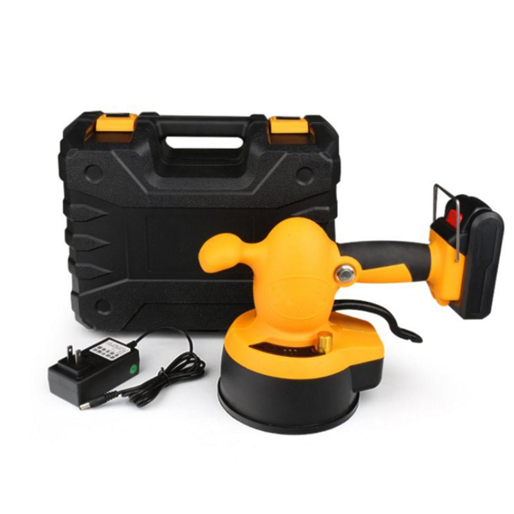 Tile Leveling System Smart Electric Automatic Portable Tiling Machine 21V 150W 1.5A Charging LED Electric Construction Tools
