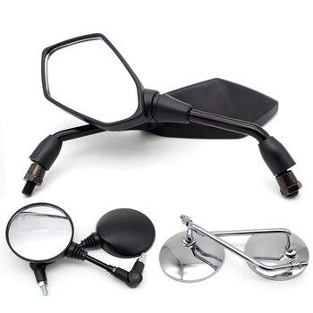 Accesorios para motocicleta, espejo para motocicleta de 8mm y 10mm para suzuki burgman 400 gsx r 600 gs 500 rm 125 sj410 gsx s750 gsx750f gsxr 750
