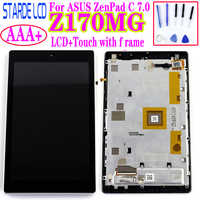 STARDE LCD For Asus ZenPad C 7.0 Z170MG LCD Display Touch Screen Digitizer Assembly Frame Z170 MG LCD Replacement