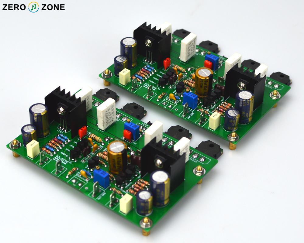 One Pair HM3S High Bias Class AB Amplifier Board /Kit / Pcb Base On GOLDMUND GM29 120W +120W