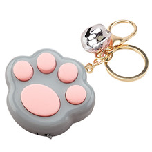 Mini New Cat Paw Anti-stress Game Keychain Toys LED Electronic Memory Games for Kids Adults Fidget Pad Squeeze Stress Relief Игрушка