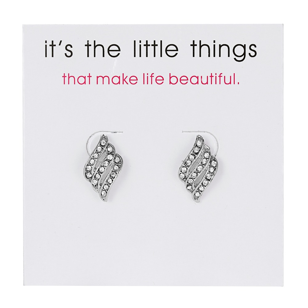 12 Pairs/set Stud Earrings Set With Card Transparent Zircon Balls Love Flowers Earrings Women Imulated Pearl Earrings Jewelry 114