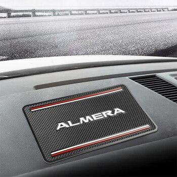 Anti deslizamento esteira acessórios interiores do carro estilo do carro caso para nissan almera g15 n16 acessórios do carro estilo Lixo de carro     -