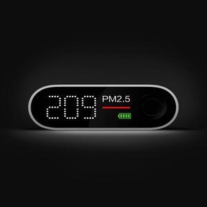 Image 3 - Smartmi Portable PM2.5 Detector Mini Sensitive Air Quality Tester For Home Office LED Screen Mi PM 2.5 Sensor