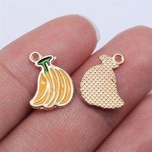 WYSIWYG 20 pièces KC couleur or banane ananas fraise breloques pour la fabrication de bijoux bijoux à bricoler soi-même résultats