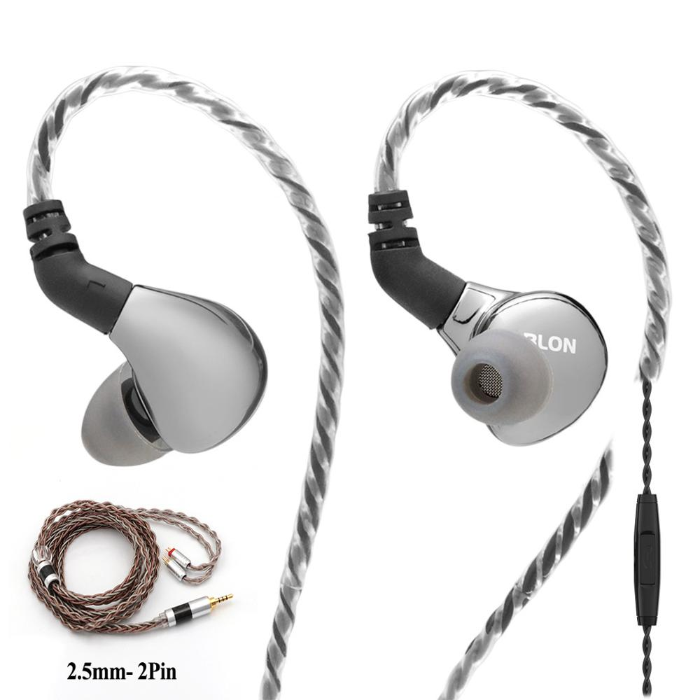 BLON BL-03 BL03 10mm Carbon Nanotube Diaphragm Dynamic HIFI Earphone Optional Tripowin C8 0.78 2Pin Detachable Cable