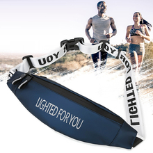 Running Waist Fanny Pack Bag Men Nylon Personal Pocket Reflective Waterproof Travel Male Purse Sling Chest Pouch Hip Bum Bags