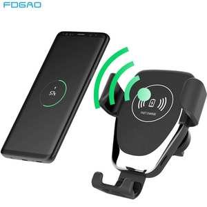 FDGAO Air-Vent-Phone-Holder Wireless-Charger iPhone 11 Qi Car Fast-Charging Samsung S10
