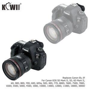 Image 3 - Aparat Eyecup wizjer okular do Canon EOS 5D Mark II 6D Mark II 90D 80D 70D 60D 77D 800D 760D zastępuje Canon Eb Ef
