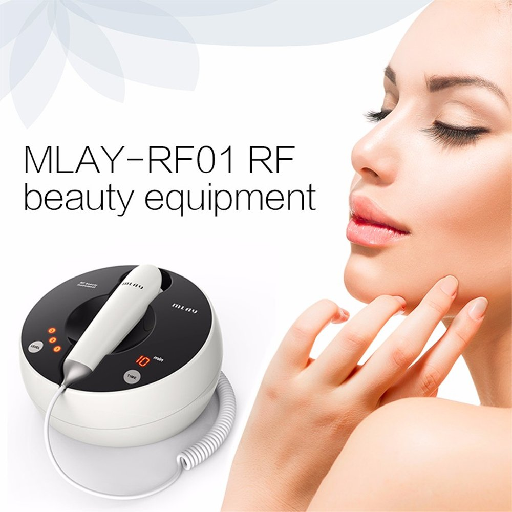 Home Use RF Skin Rejuvenation Whitening Machine Face Lifting Tender Galvanic Spa Anti Wrinkle Micro Current Beauty Device-in Facial Steamers from Home Appliances    2