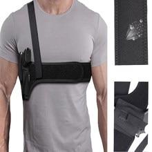 Coldre de ombro masculino escondido universal axilas arma coldre removível e combinável pistolas coldre equipamento de caça ao ar livre