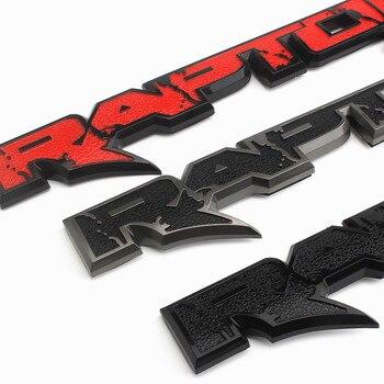 1 pièces nouveau Raptor SVT emblème de hayon Badge 3D 09-14 autocollant de voiture de coffre pour Ford F150 2010-2014 Fx4 accessoires de voiture