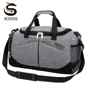 Hot Men Travel Handbag Large Capacity Women Luggage Sport Duffle Bags Male Canvas Big Travel Folding Trip Shoulder Bag 1