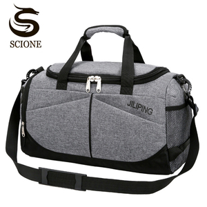 Hot Men Travel Handbag Large Capacity Women Luggage Sport Duffle Bags Male Canvas Big Travel Folding Trip Shoulder Bag(China)