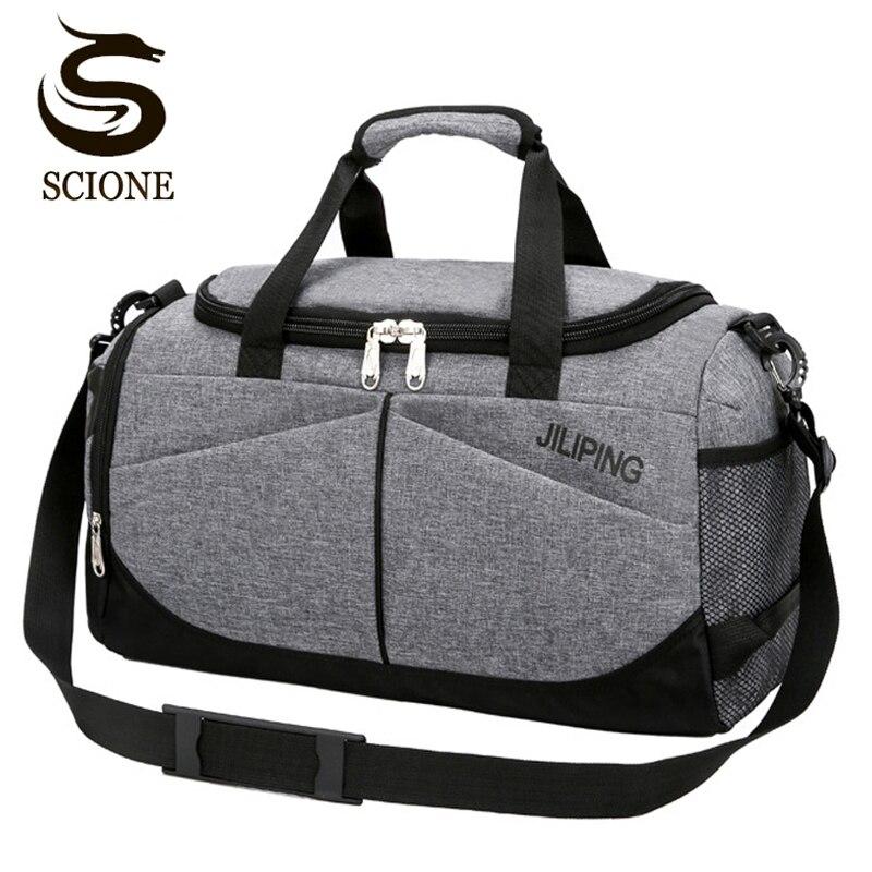 Los Hombres Calientes bolso de gran capacidad mujeres equipaje bolsas de lona masculinos gran viaje plegable de viaje bolsa de hombro