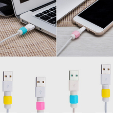 Hot Sell Pretty Useful 5 pieces Charging Wire Protect For Apple For MacBook Pro Air for Iphone Charger Cable Saver Protector