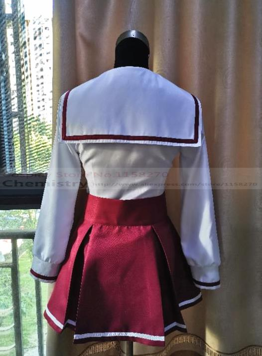 Rent-a-Girlfriend Kanokari Sumi Sakurasa Cosplay Costume School JK Uniform Set {