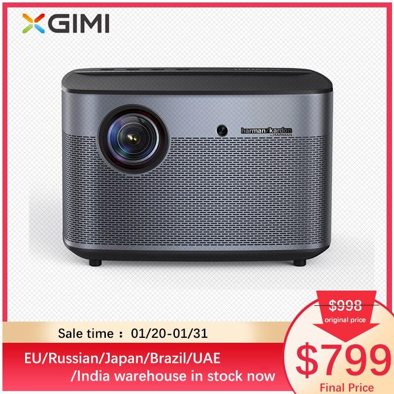 Original XGIMI H2 projecteur Home cinéma 300 pouces 1080P Full HD 3D Android Bluetooth Wifi Suppor4K DLP TV Beamer