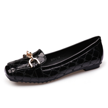 Boat Shoes Woman Loafers Design-Style Women Luxury Wedding-Dress Square Toe Brand Party