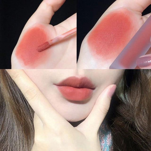 Liquid Lipstick Matte Long Lasting Waterproof Makeup Lips Red Velvet Nude Lip Gloss Make Up Cosmetics Matte Lipsticks Lip Tint 1