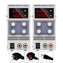 Fuente de alimentación CC de laboratorio 30V 10A, estabilizador y regulador de voltaje ajustable de 60V 5A, fuente de alimentación conmutada de 30v 10a AC 110v 220v