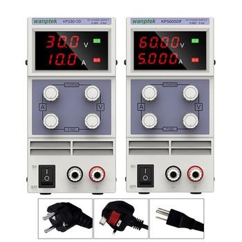 30V 10A Laboratory Dc Power Supply Adjustable 60V 5A Voltage Regulator Stabilizer Switching Power Supply 30v 10a AC 110v 220v wanptek dps3010u 305u 605u switching dc power supply adjustable 4 digit lab bench power source 30v 10a 30v 5a 0 01v 0 001a ac