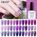 Гель-лак Elite99 10 мл для ногтей фиолетового цвета, модный УФ-гель для ногтей, растворимый, Полупостоянный светодиодный лак для ногтей, Гель-лак