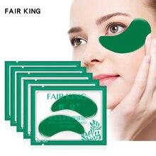 5 пара/лот, зеленые морские водоросли, укрепляющая маска для глаз, патчи для глаз, кристально-зеленые маски против темных кругов, патчи для век, новинка